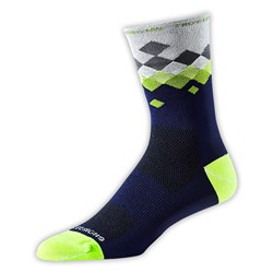 TLD ACE PERF CREW SOCK ASTRO DIRTY BLUE