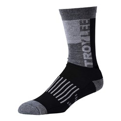 TLD 18 PERFORMANCE CREW SOCK BLOCK BLACK