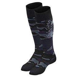 TLD 21 GP MX MOTO SOCKS YTH CAMO BLACK YOUTH (4-6)
