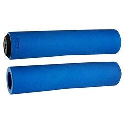 ODI MTB F-1 FLOAT FOAM GRIP 130MM BLUE