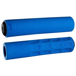 ODI MTB F-1 VAPOR FOAM GRIP 130MM BLUE