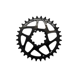 GAMUT DIRECT MOUNT CHAINRING SRAM GXP BLACK