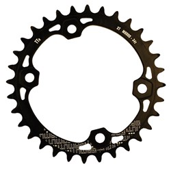 GAMUT CHAINRING THICK THIN RACERING M8000 XT 30T BLACK