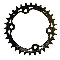 GAMUT CHAINRING THICK THIN RACERING M8000 XT 32T BLACK