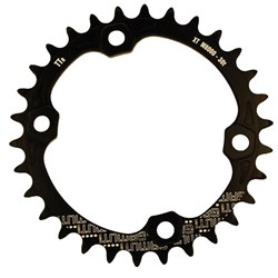 GAMUT CHAINRING THICK THIN RACERING M8000 XT 34T BLACK