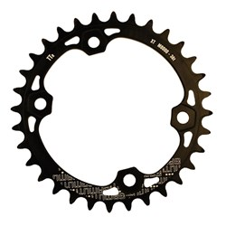 GAMUT CHAINRING THICK THIN RACERING M8000 XT 36T BLACK