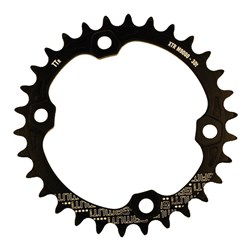 GAMUT CHAINRING THICK THIN RACERING M9000 XTR 30T BLACK