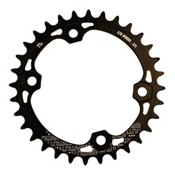GAMUT CHAINRING THICK THIN RACERING M9000 XTR 32T BLACK