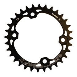 GAMUT CHAINRING THICK THIN RACERING M9000 XTR 36T BLACK