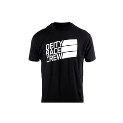 DEITY RACE CREW TEE BLACK