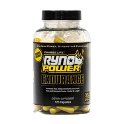 RYNO POWER ENDURANCE CAPSULES 125 CT