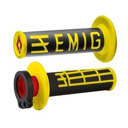 ODI MX V2 EMIG LOCK ON GRIP YELLOW/BLACK  2 ST / 4 ST
