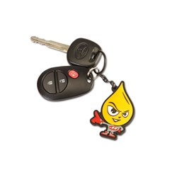 MAXIMA KEYCHAIN OILY GUY