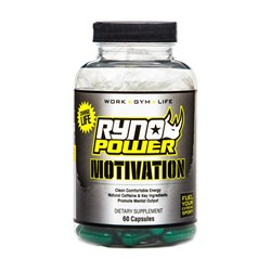 RYNO POWER GLOBAL MOTIVATION CAPSULES 60 CT