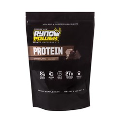 RYNO POWER PROTEIN POWDER CHOCOLATE 907 GRAMS (2LB)