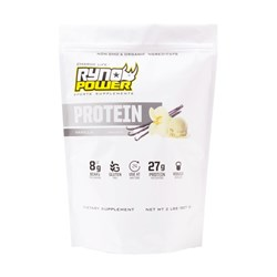 RYNO POWER PROTEIN POWDER VANILLA 907 GRAMS (2LB)