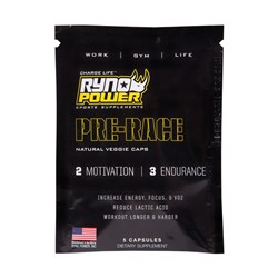 RYNO POWER PRE-RACE 45 GRAMS SINGLE SERVE SACHET