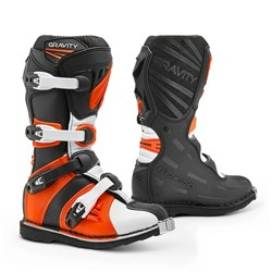 FORMA GRAVITY YOUTH BOOTS BLACK / ORANGE YTH 34EU / 2US SAMPLE