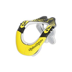 TLD ALPINESTARS BNS NECK SUPPORT BRACE CARBON TECH BLK YEL