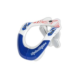 TLD ALPINESTARS BNS NECK SUPPORT BRACE COMPOSITE PRO RED BLUE