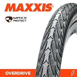 OVERDRIVE 28 X 1-5/8 X 1-1/4 700 X 32C MAXXPROTECT