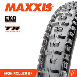 HIGH ROLLER II 27.5 X 2.80 PLUS EXO TR FOLD 60TPI