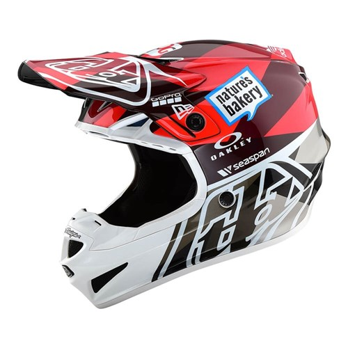 TLD 19 SE4 ECE POLY HELMET JET ORANGE / GREY
