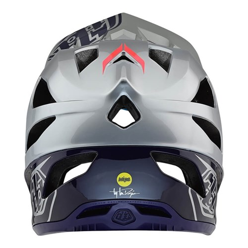 TLD 19 STAGE AS MIPS HELMET RACE SILVER / NAVY