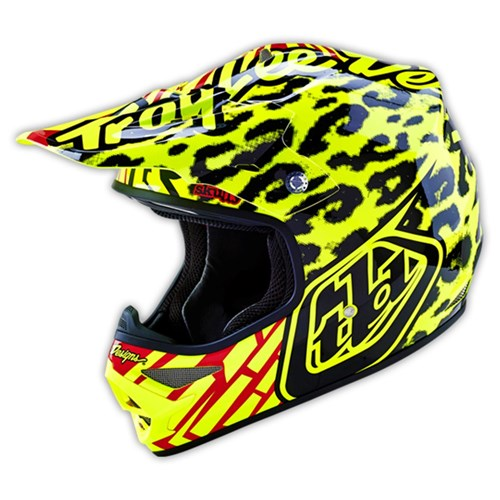 TLD 16 AIR AS HELMET SKULLY YELLOW