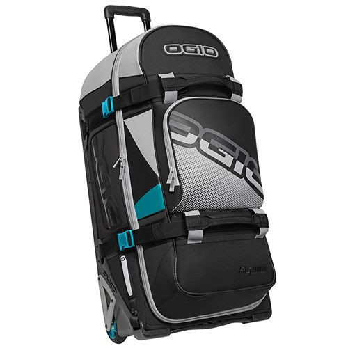 OGIO RIG 9800 WHEELED BAG TEAL / BLOCK