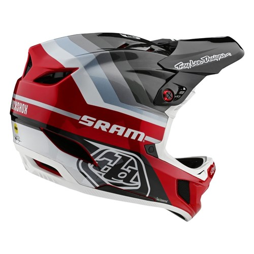 TLD 20 D4 AS CARBON HELMET MIPS MIRAGE SRAM BLACK / RED