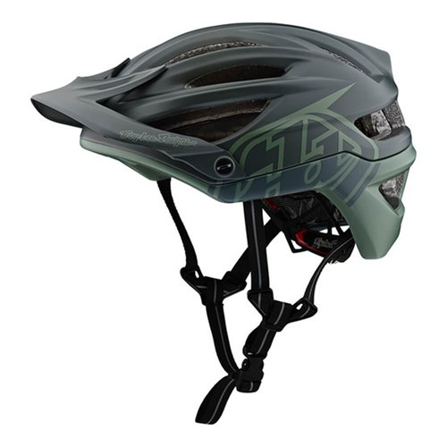 TLD 19 LE A2 AS HELMET MIPS DECOY BLACK / FLT GRN