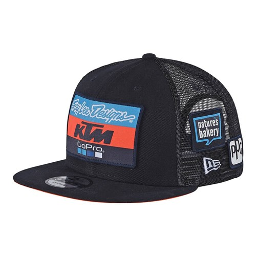 TLD 19 KTM TEAM YTH HAT NAVY Y-OSFA