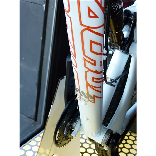 All Mountain Style Ams Frame Guard XL Clear//Silver