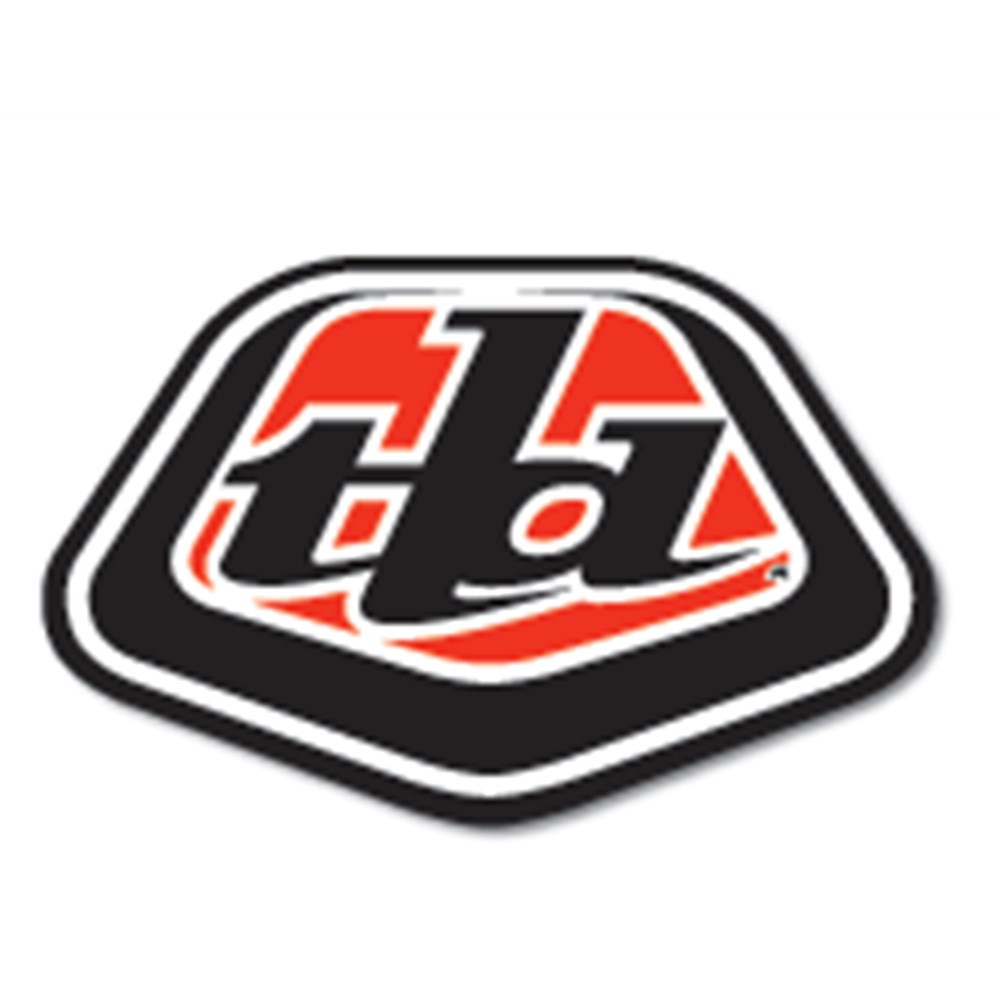 906039421 Tld Icon Sticker Red Blk 3 5 Quot 25 Pack Lusty